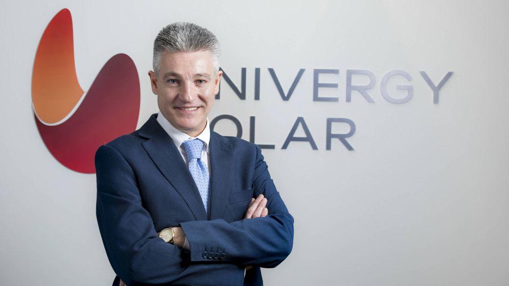 Foto: El consejero delegado de Univergy Solar, Ignacio Blanco.