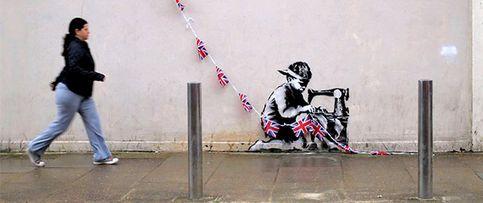 Londres se levanta en armas contra la venta de su 'banksy'