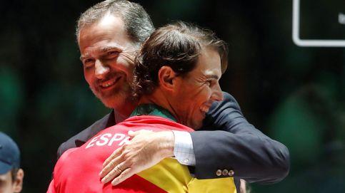 La afición presiona: quieren que el primer título de la era Felipe VI sea para Nadal