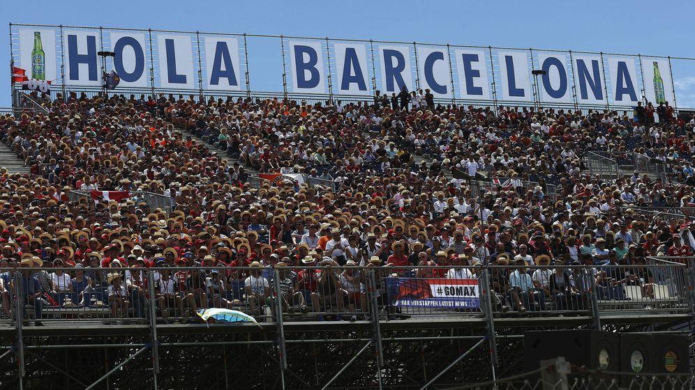 Foto: La grada del Gran Premio de España. (EFE)