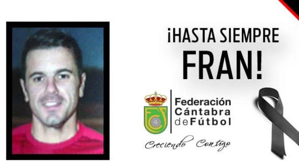 Foto: La federación de fútbol de Cantabria le ha despedido a través de sus redes sociales (Foto: Twitter)