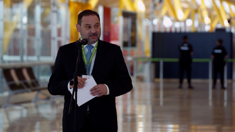 El ministro de Transportes, Movilidad y Agenda Urbana, José Luis Ábalos, hoy. (EFE)