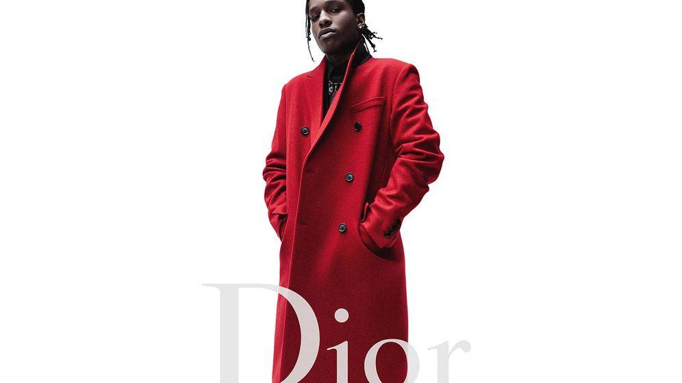 Foto: A$AP Rocky. (Imagen: Dior)