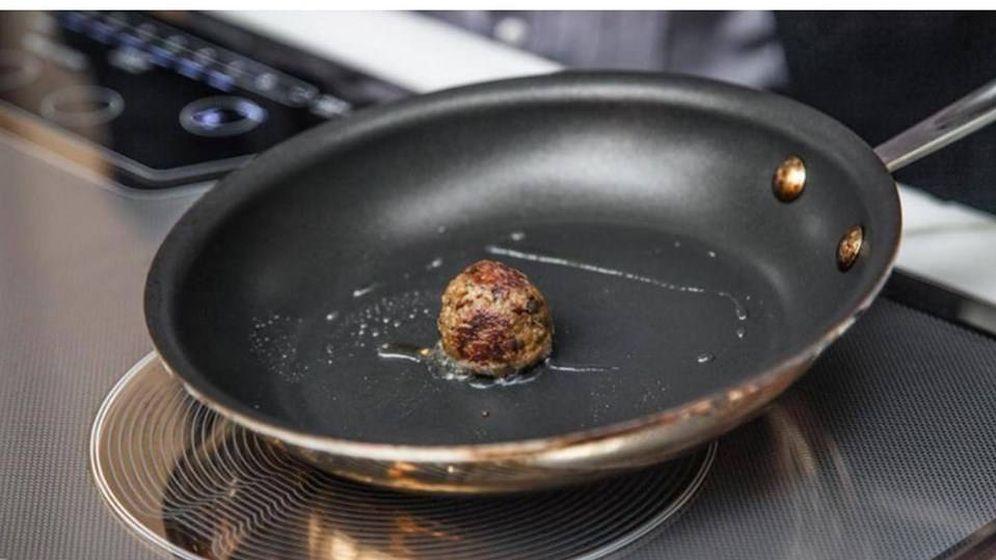 Foto: Carne creada en el espacio. Foto: Facebook