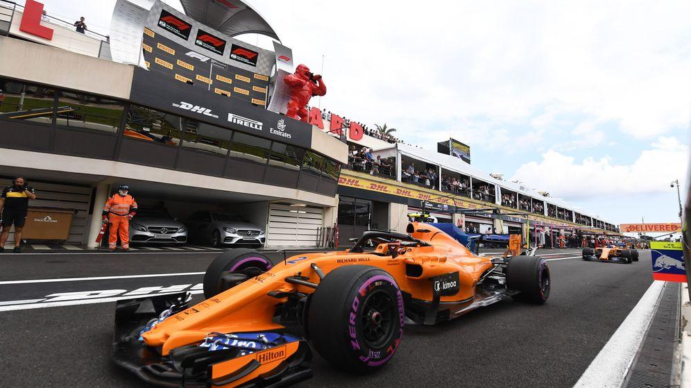 Foto: Cada temporada un problema nuevo en McLaren (EFE)