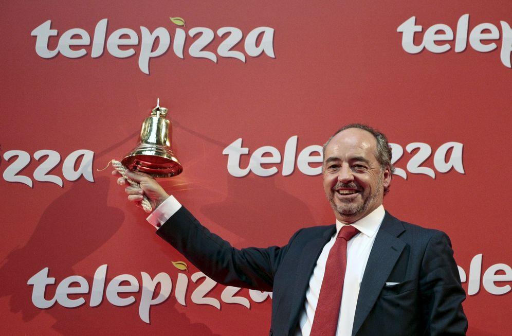 Foto: Pablo Juantegui, presidente ejecutivo de Telepizza. (Reuters)