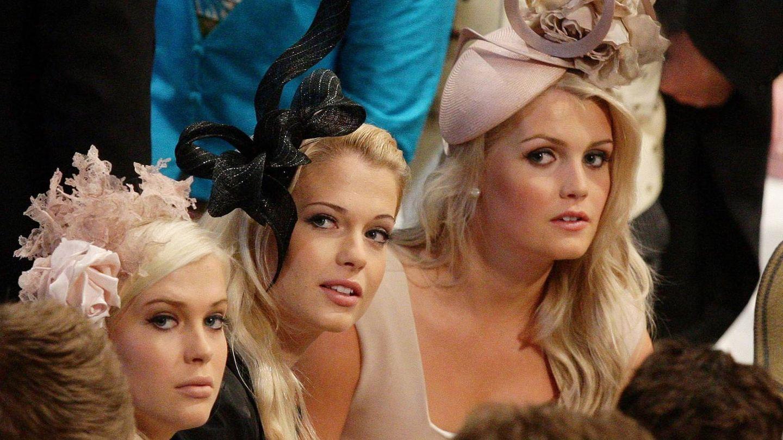 Las tres hijas mayores del conde Spencer, todas unas celebrities. (Getty)