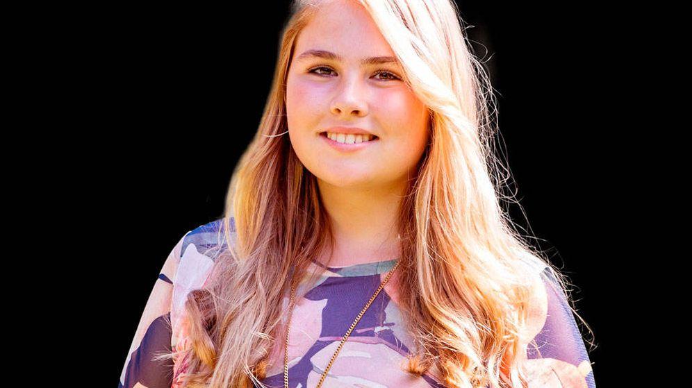 Foto: Amalia de Holanda en una imagen archivo. (Getty)