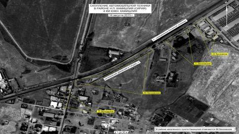 Las fotos satélite con las que Rusia acusa a Erdogan de ayudar al ISIS