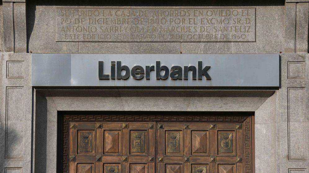 Foto: Sede de Liberbank en Oviedo. (EFE)