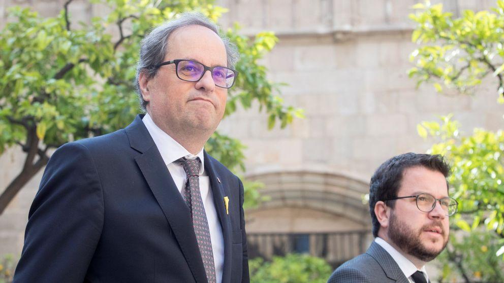 Guerra soterrada de Quim Torra y JxCAT contra ERC por el control de TV3