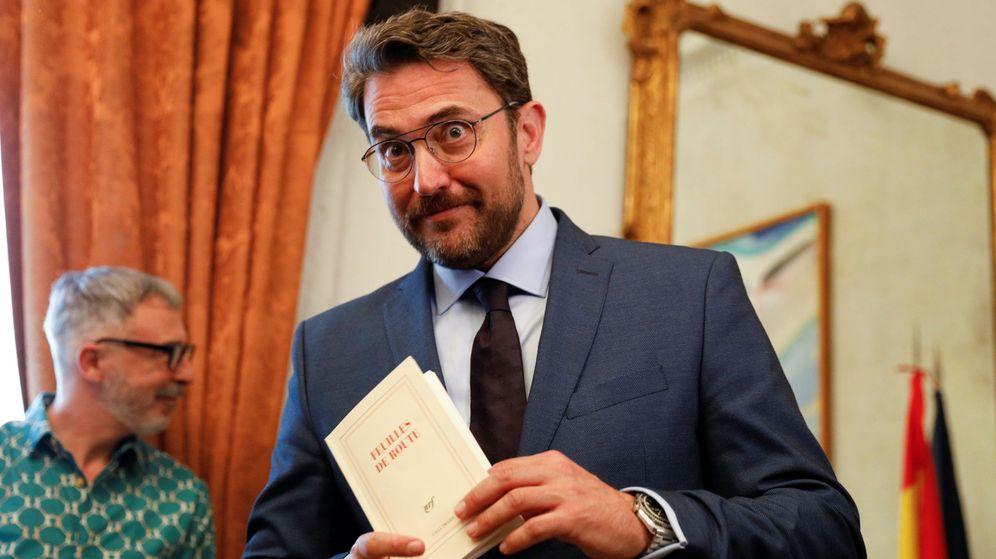Foto: El ministro de Cultura y Deportes, Màxim Huerta. (Reuters)