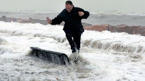La borrasca Karine releva a Jorge: siga la evolución del temporal en tiempo real