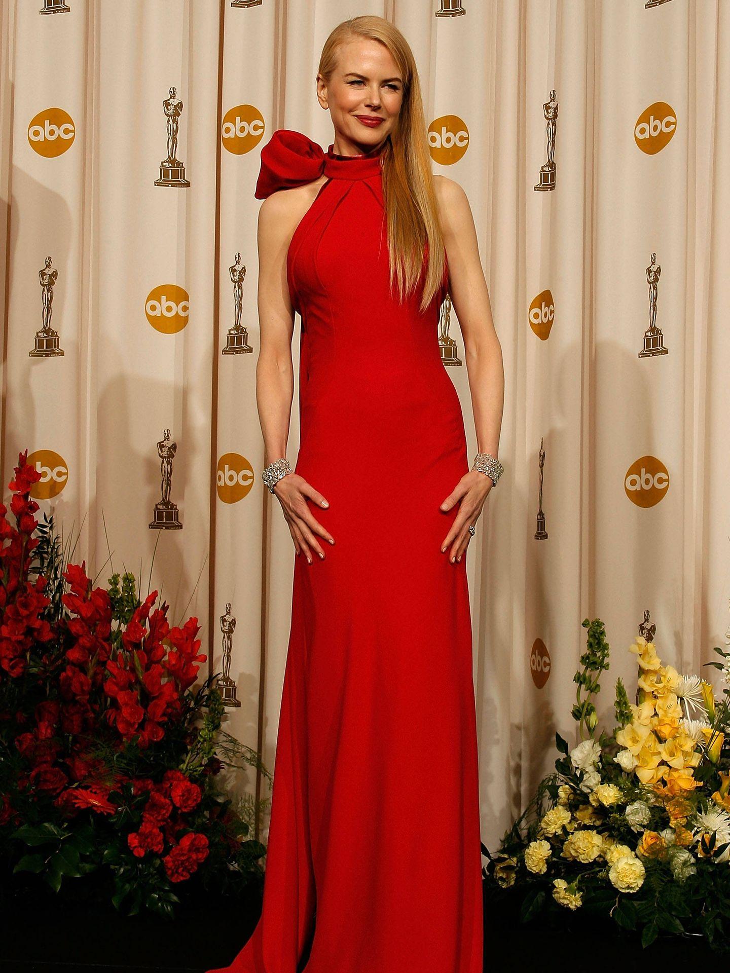 Nicole Kidman, en los Oscar de 2007. (Getty)