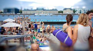Aquí sí hay playa: Berlín disfruta de su río durante el verano