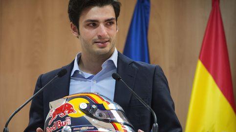 Sainz se subió al 'podio' y lloró: Yo ya he llevado a mi María de Villota personal...