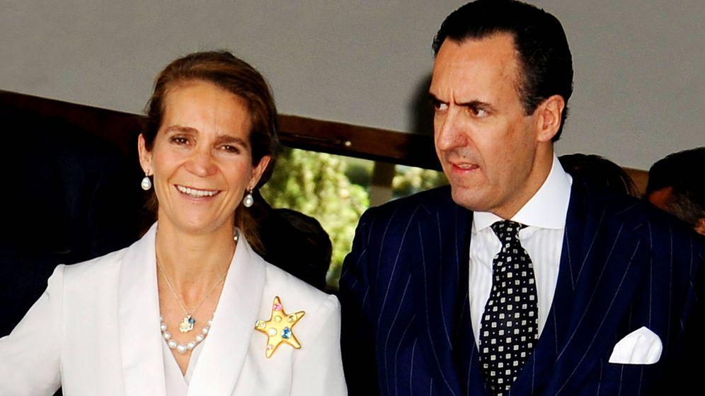 Foto: La infanta Elena y Jaime de Marichalar. (Getty)