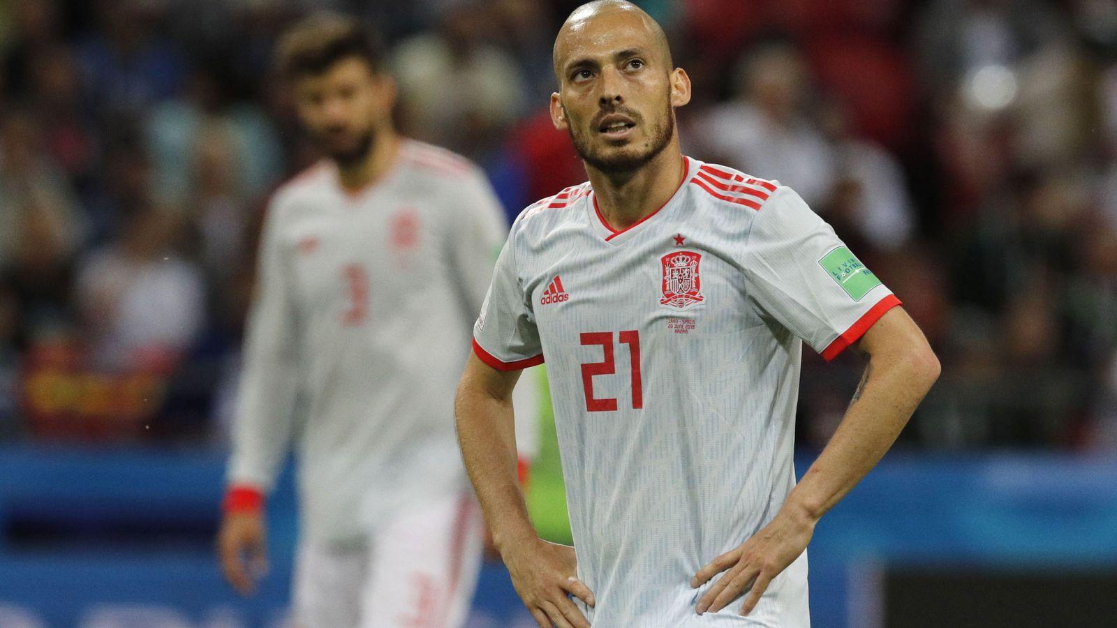 Foto: Silva jugó los cuatro partido de España en el Mundial de Rusia. (EFE)