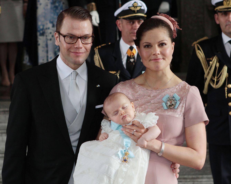 Foto: Así han sido los últimos bautizos reales de los príncipes y princesas europeos