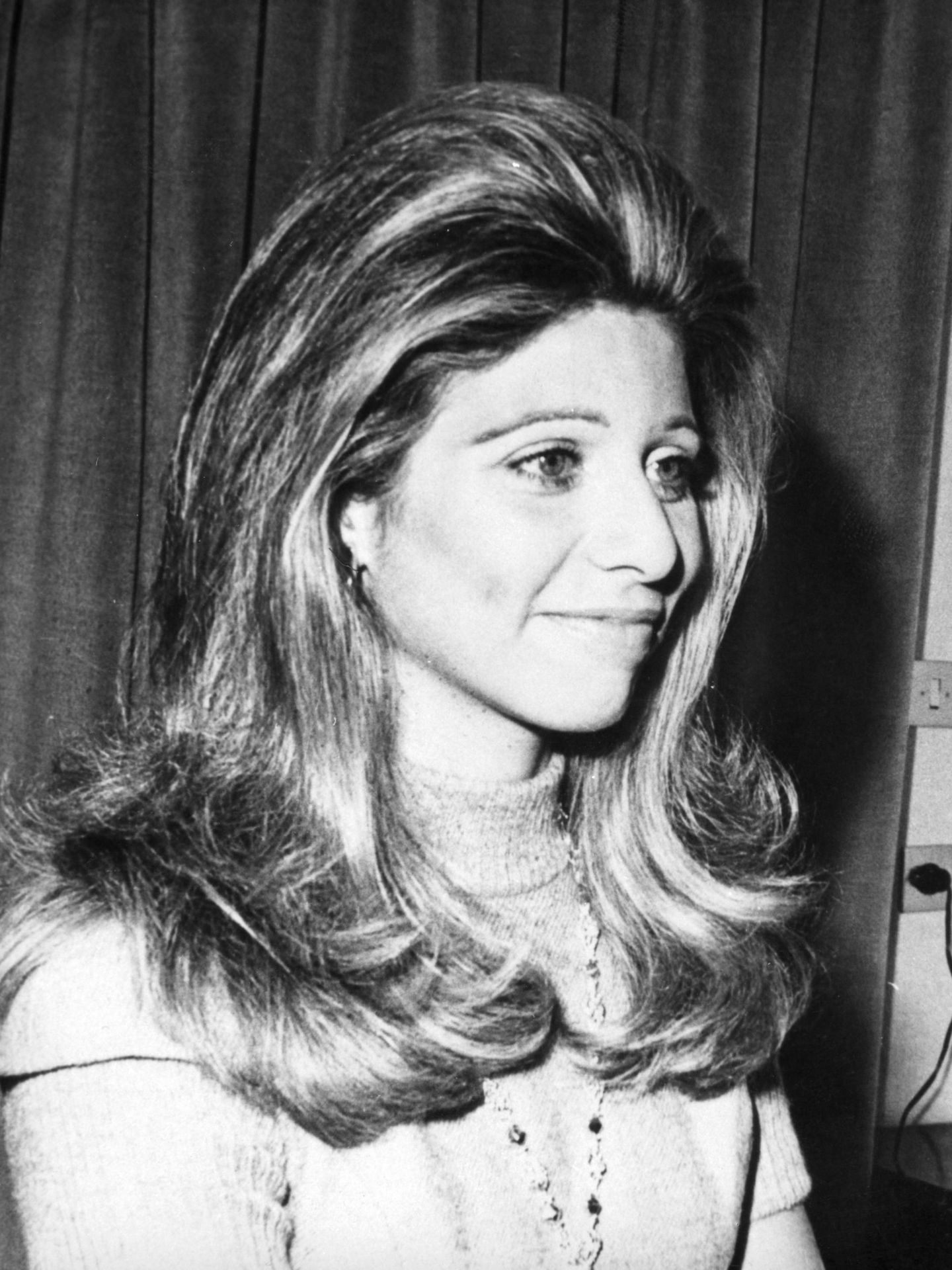 La reina Alia de Jordania, en 1976, un año antes de su muerte. (Cordon Press)
