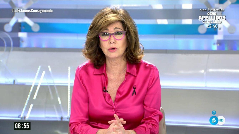 Ana Rosa Quintana incendia Twitter tras comparar la situación del covid-19 con la del sida