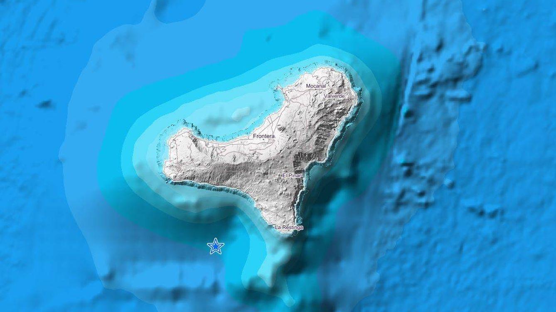 Registrado un ligero terremoto de magnitud 3.1 en la isla de El Hierro