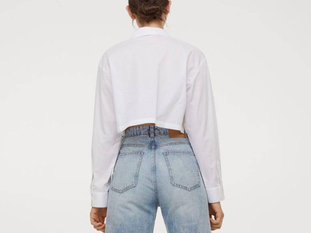 Foto: Los pantalones vaqueros culotte de HyM. (Cortesía)