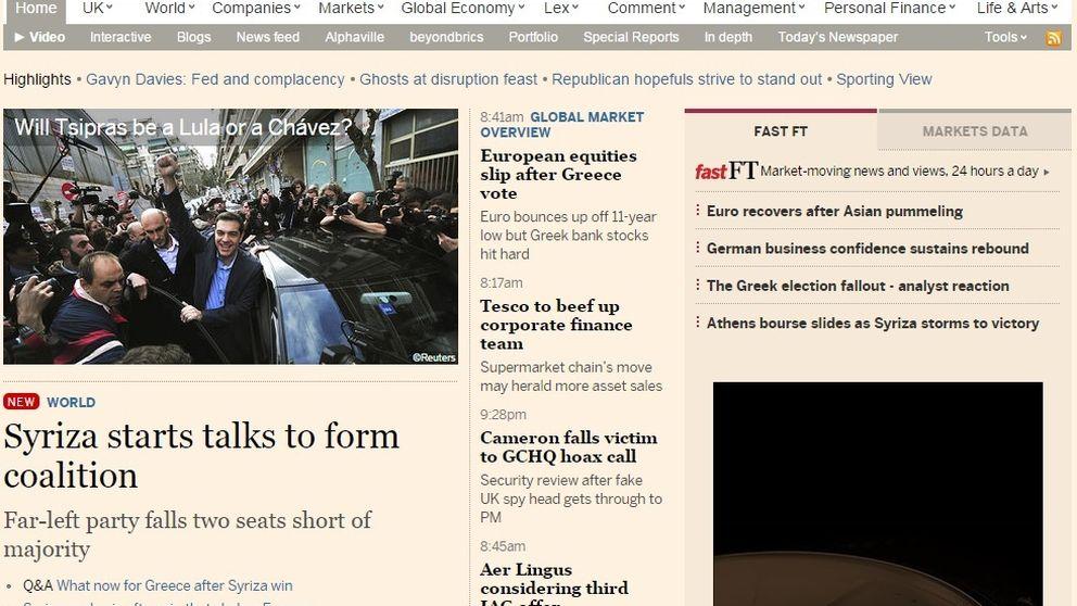 Pearson vende el 'Financial Times' a Nikkei por 1.200 millones de euros