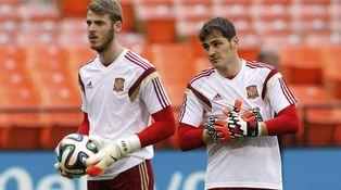 La fría relación entre De Gea y Casillas