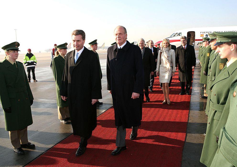 Foto: El rey don Juan Carlos junto a la princesa Corinna zu Sayn-Wittgenstein (I.C.)
