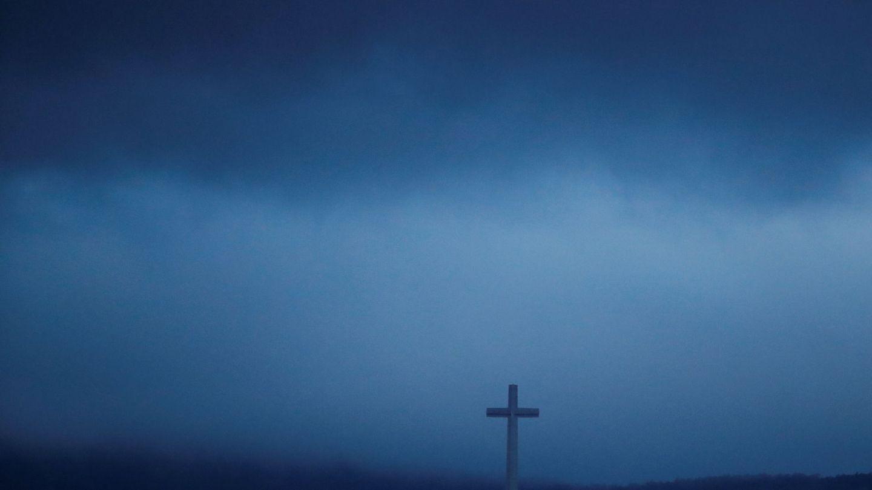 El Valle de los Caídos, esta mañana. (Reuters)