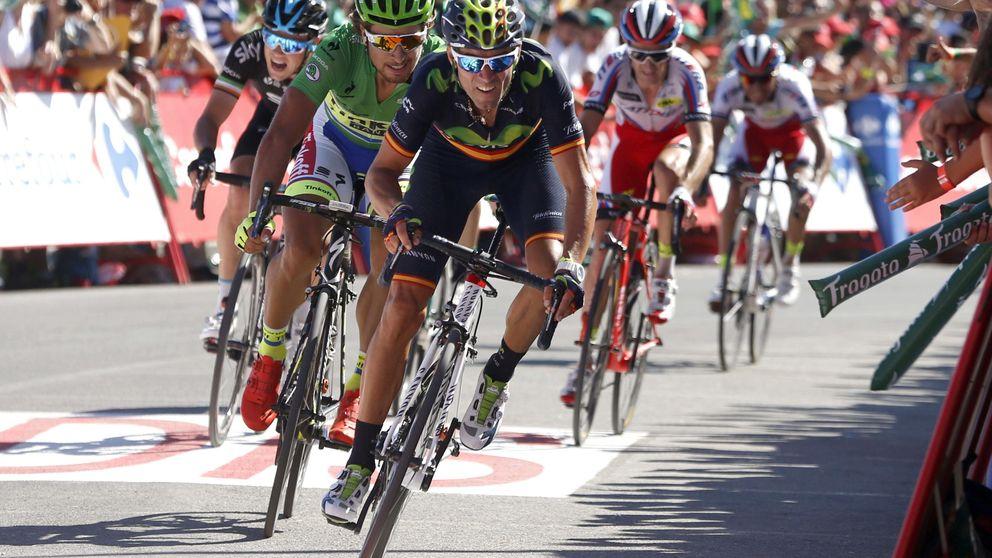 Valverde, el incansable, avisa a los rivales antes de que empiece lo serio