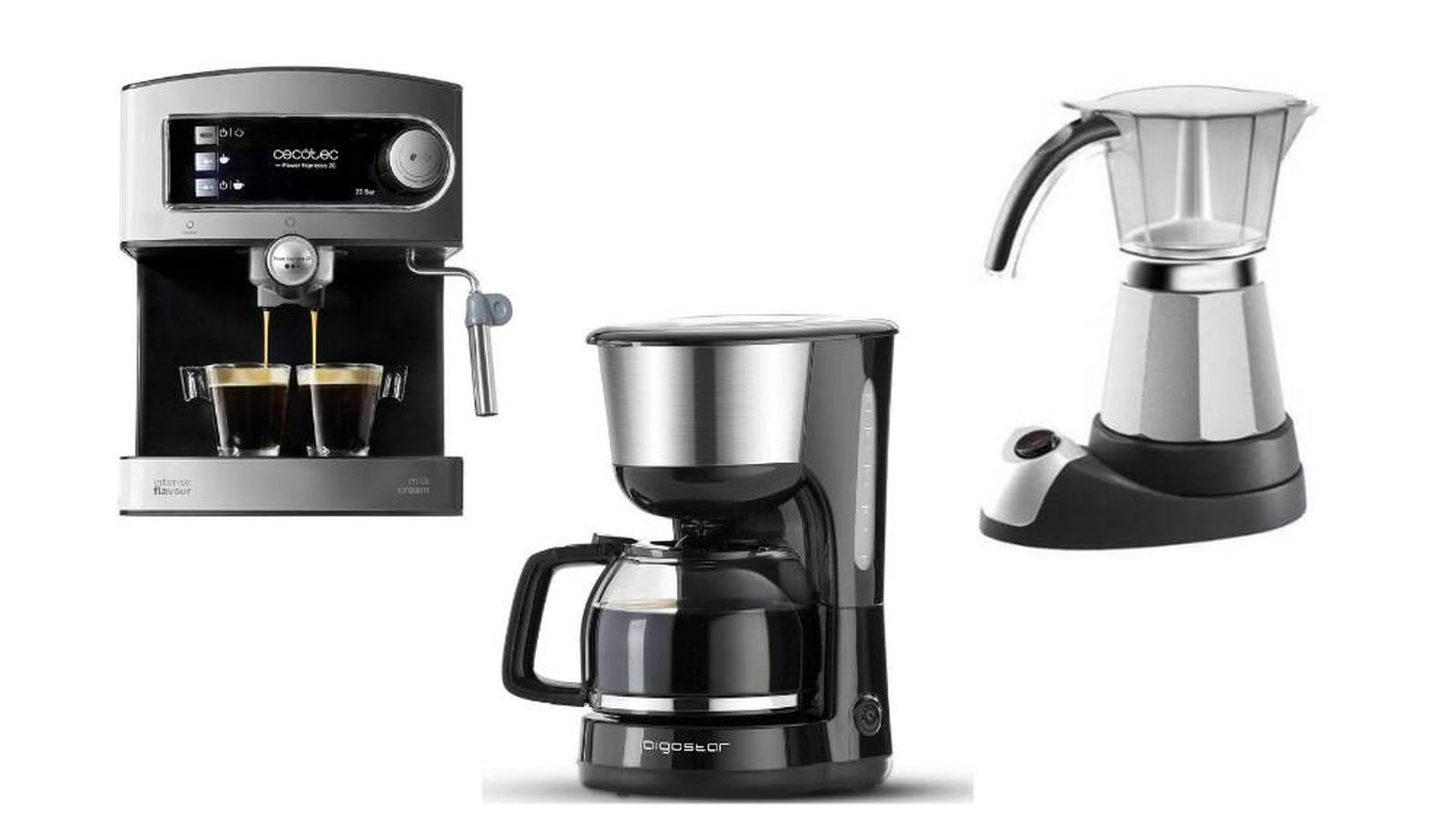 Las cafeteras eléctricas para hacer espectaculares cafés sin