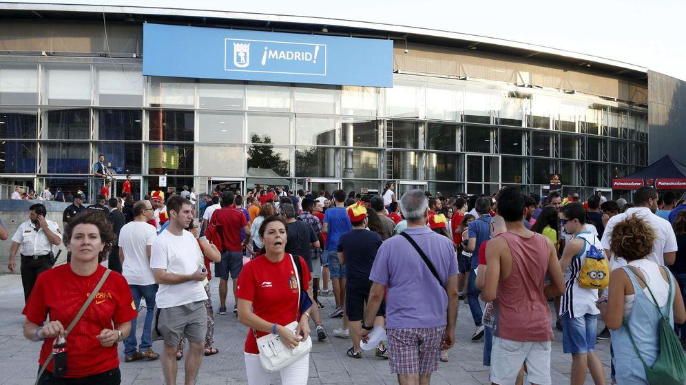 Foto: Uno de los accesos al Madrid Arena. (EFE)
