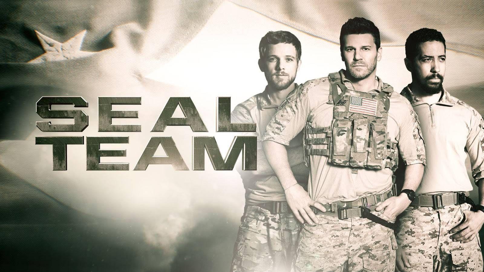 Foto: David Boreanaz protagoniza el drama 'Seal Team'. (CBS)