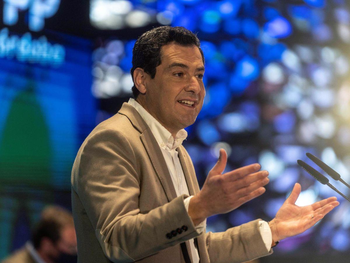 Foto: El presidente del PP andaluz, Juanma Moreno. (EFE)