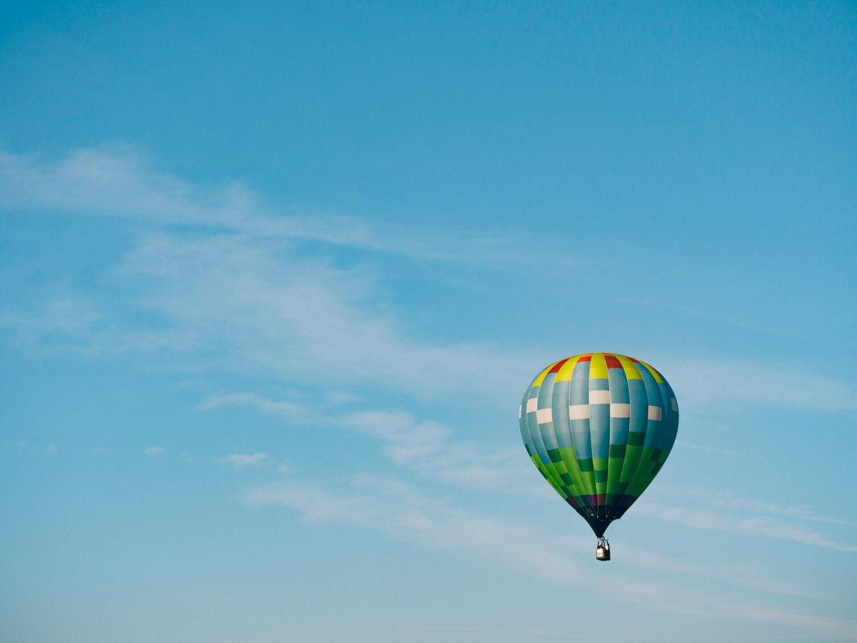 Foto: Imagen de un globo (Unsplash)