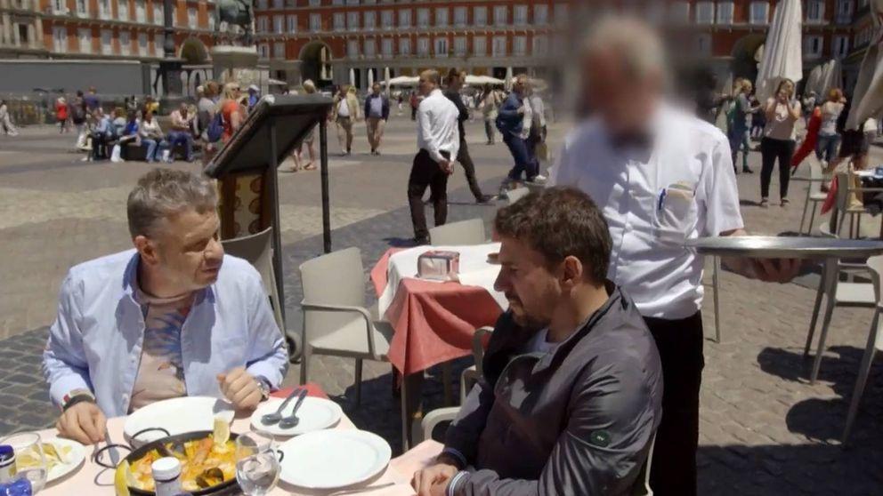 Echan de un restaurante a Alberto Chicote en plena Plaza Mayor de Madrid
