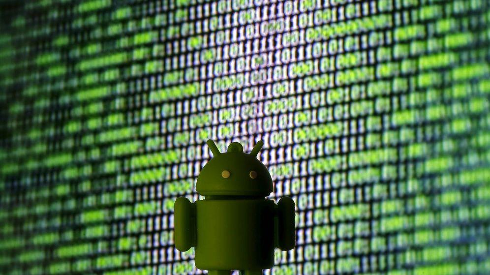 Foto: Un logo de Android impreso en 3D (Dado Ruvic / Reuters)