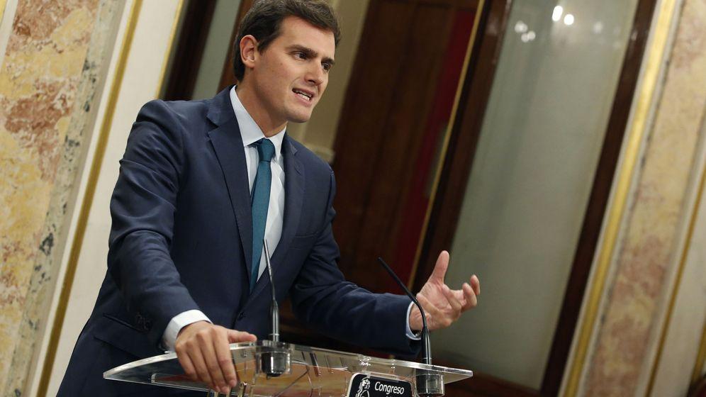 Foto: El lider de Ciudadanos, Albert Rivera. (EFE)