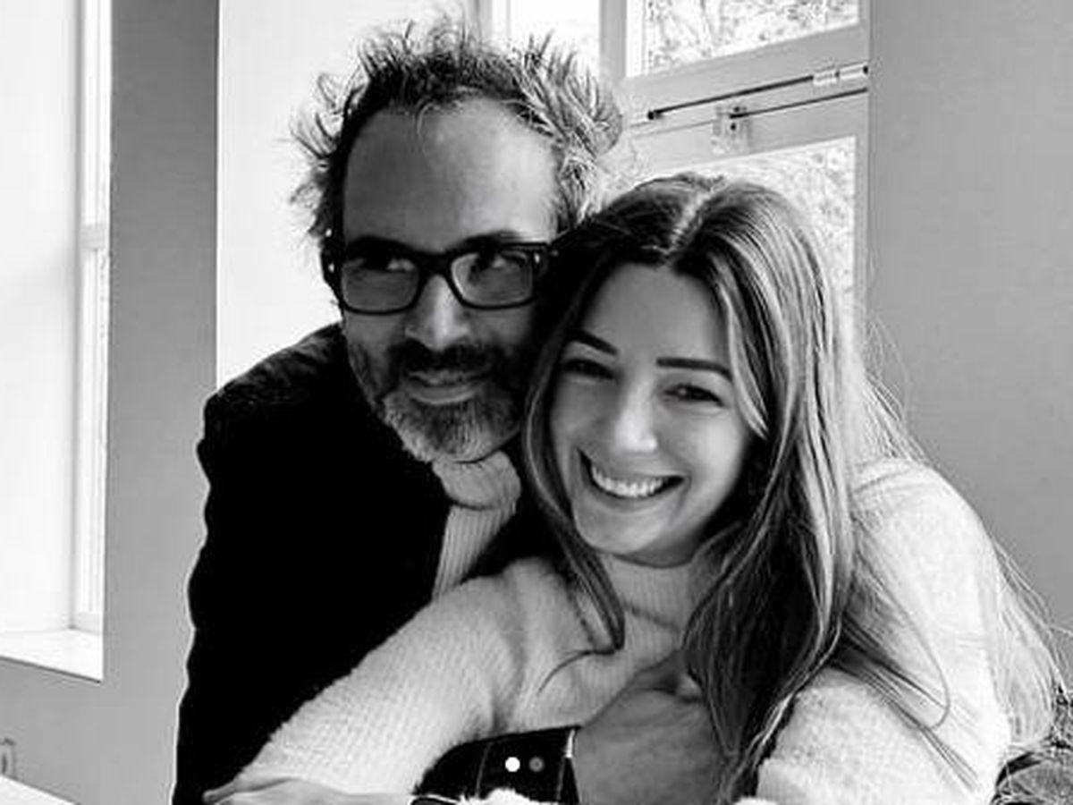Foto:  James Rhodes y Micaela Breque, 'in love'. (IG @miquibreque)