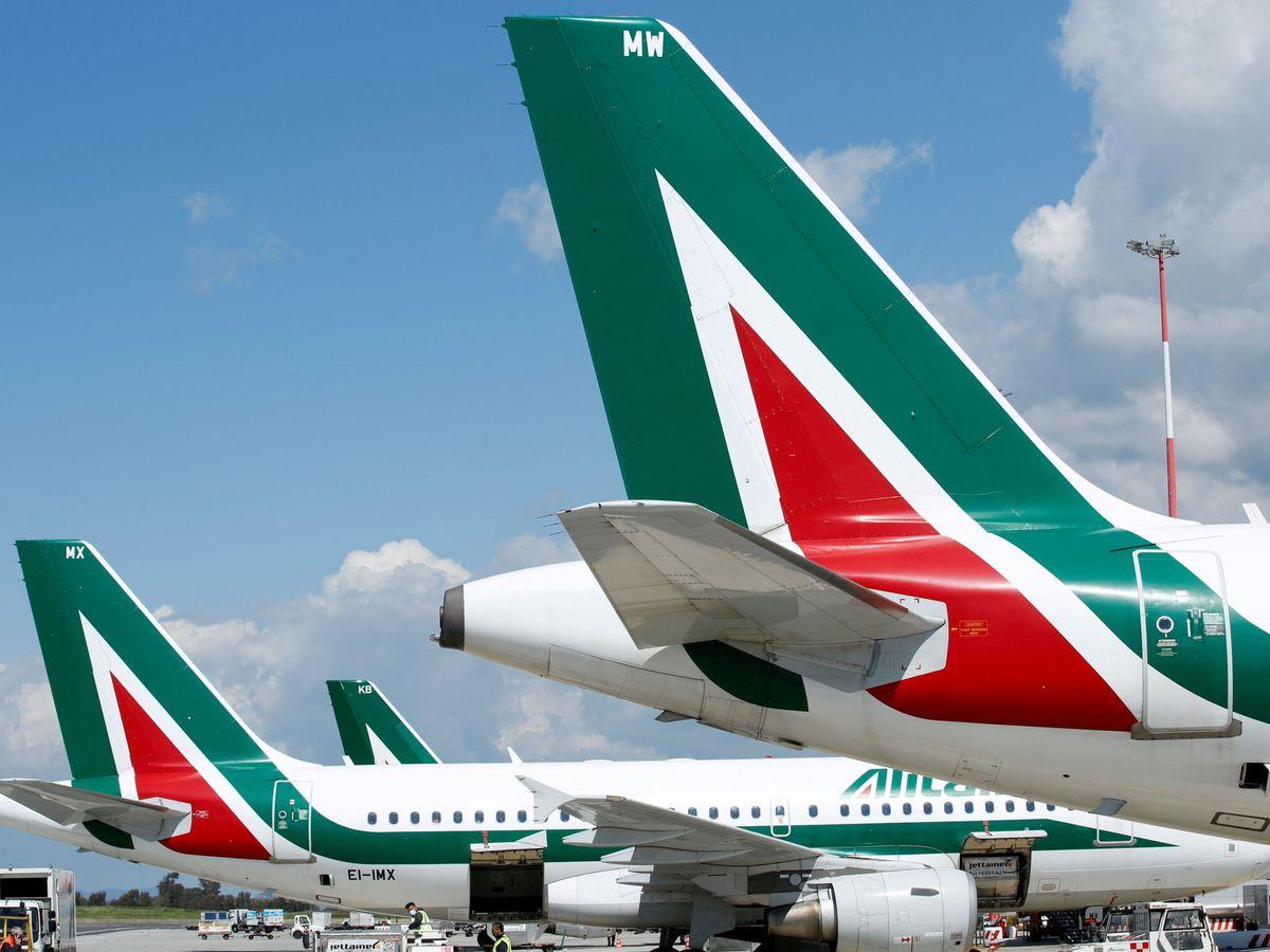 Foto: Aviones de Alitalia. (Reuters)