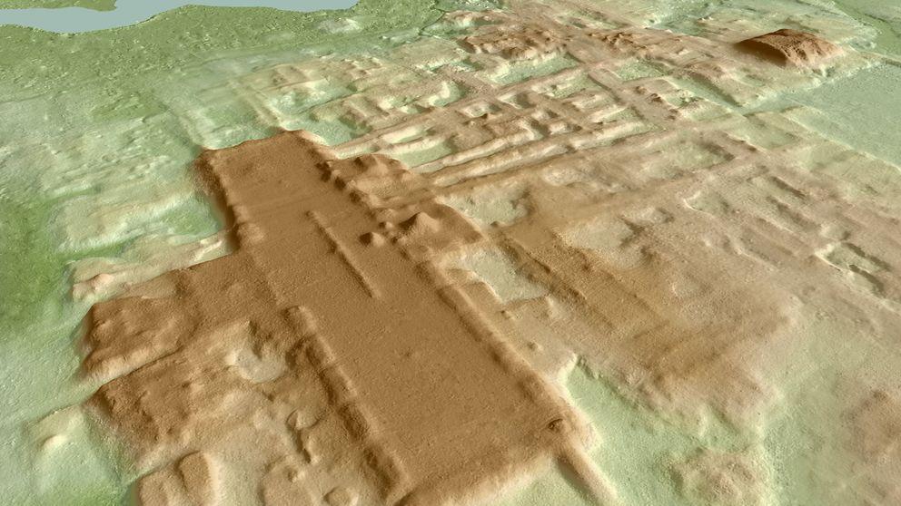 Hallan la estructura maya más grande y antigua hasta la fecha