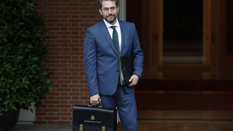 Màxim Huerta, tras prometer su cargo como ministro de Cultura y Deporte. (EFE)