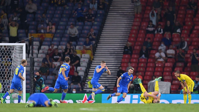Ucrania se cuela en los cuartos de final con un gol agónico en la prórroga ante Suecia (1-2)