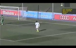 Así fue el debut de Odegaard con el Castilla