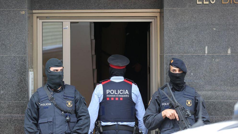Presiones e interrogatorios: los Mossos tratan de demostrar la operación Cataluña