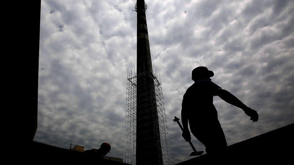 Foto: Foto de archivo de una planta de carbón. (EFE)