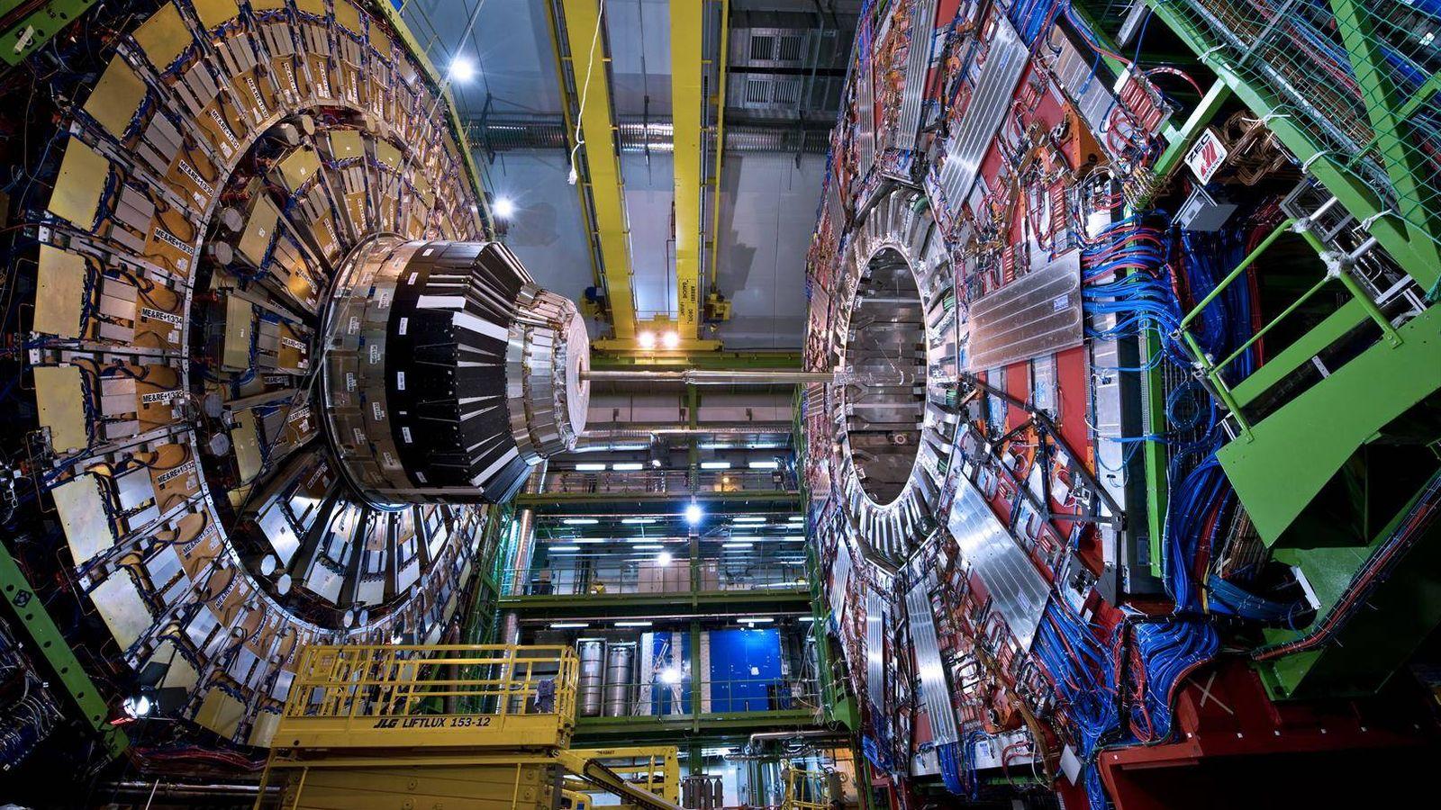Resultado de imagen de El LHC busca la materia oscura