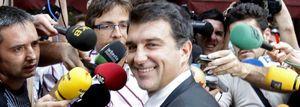 Jugada de estrategia de Laporta para 'romper' la junta del Barça e imponer a su sucesor